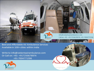 Air Ambulance Service in Guwahati