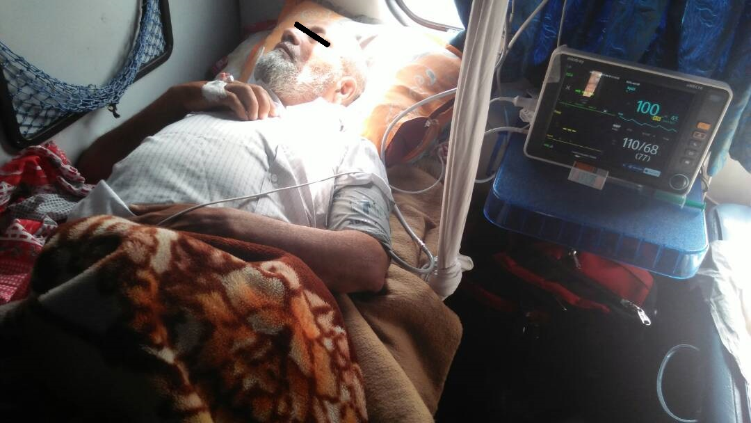 Shifting Patient from Guwahati to Delhi with ICU Setup