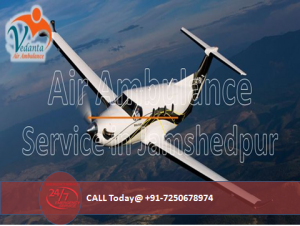 Air Ambulance Service in Jamshedpur