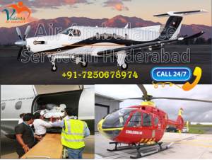 Air Ambulance Service in Hyderabad