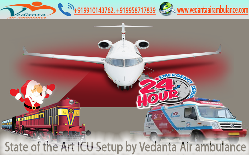 Air Ambulance from Ranchi and Bhopal