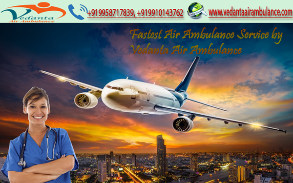 Emergency Patient Transfer Service in India by Vedanta Medical Team