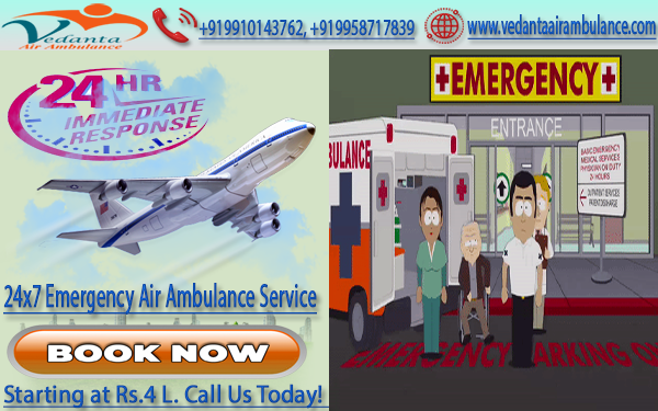 Air Ambulance in Jabalpur and Siliguri