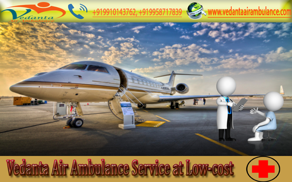 Well-Established and Occupied Service by Vedanta Air Ambulance Service in Jamshedpur