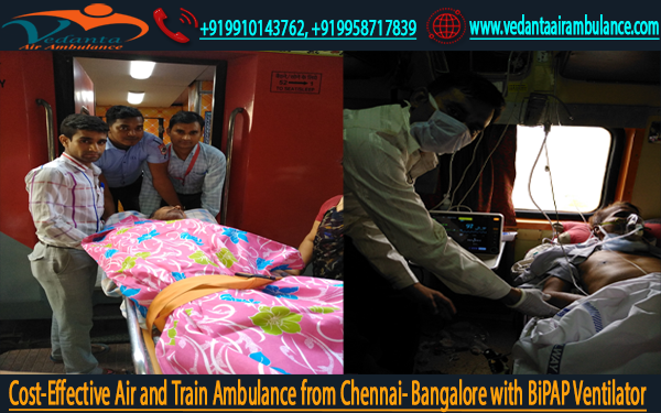 Vedanta Air Ambulance Service in Chennai