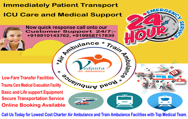 vedanta-Air-Ambulance-Gaya-Gorakhpur